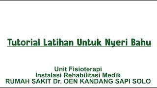 Fisioterapi - Pemeriksaan Fisioterapi Pada Bahu (ACROMIOCLAVICULAR JOINT).