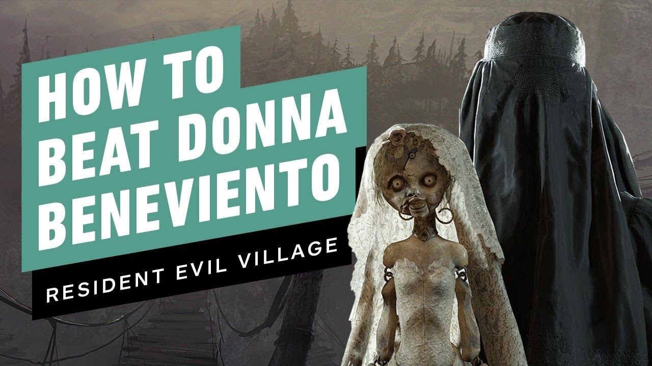 Resident Evil Village Walkthrough - Boss Fight: Donna Beneviento (1080p/60FPS) No Commentary
