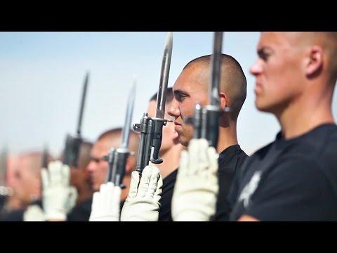 U.S Marine Corps Silent Drill Platoon – Behind the Scenes