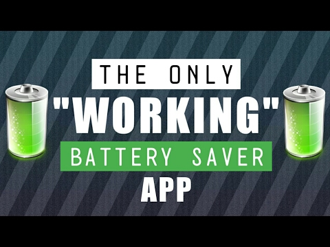 The Only Working Battery Saver App You Don't Know About - Best Battery Saver 2017