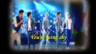 ONE DIRECTION -  WHAT MAKES YOU BEAUTIFUL - LYRICS KARAOKE
