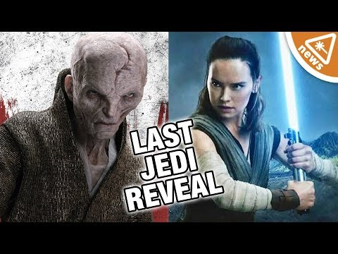Download Youtube: Did The Last Jedi Trailer Reveal Rey's Connection with Snoke? (Nerdist News w/ Jessica Chobot)