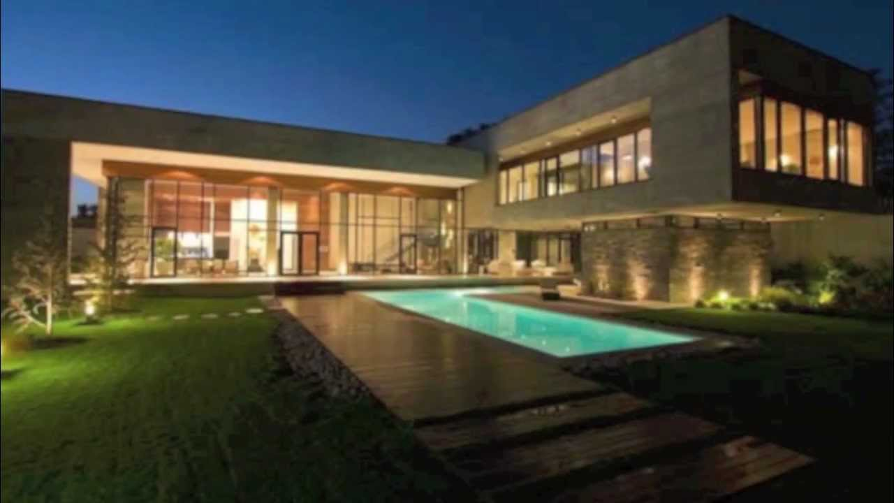 Modern house in iran youtube for Modern homes for sale in 76112