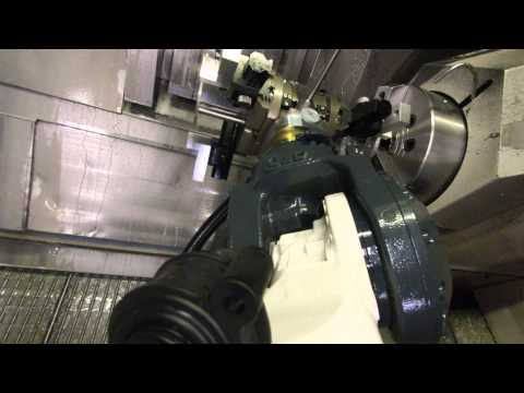 Mazak Integrex 400SY + BMO Platinum series robot load
