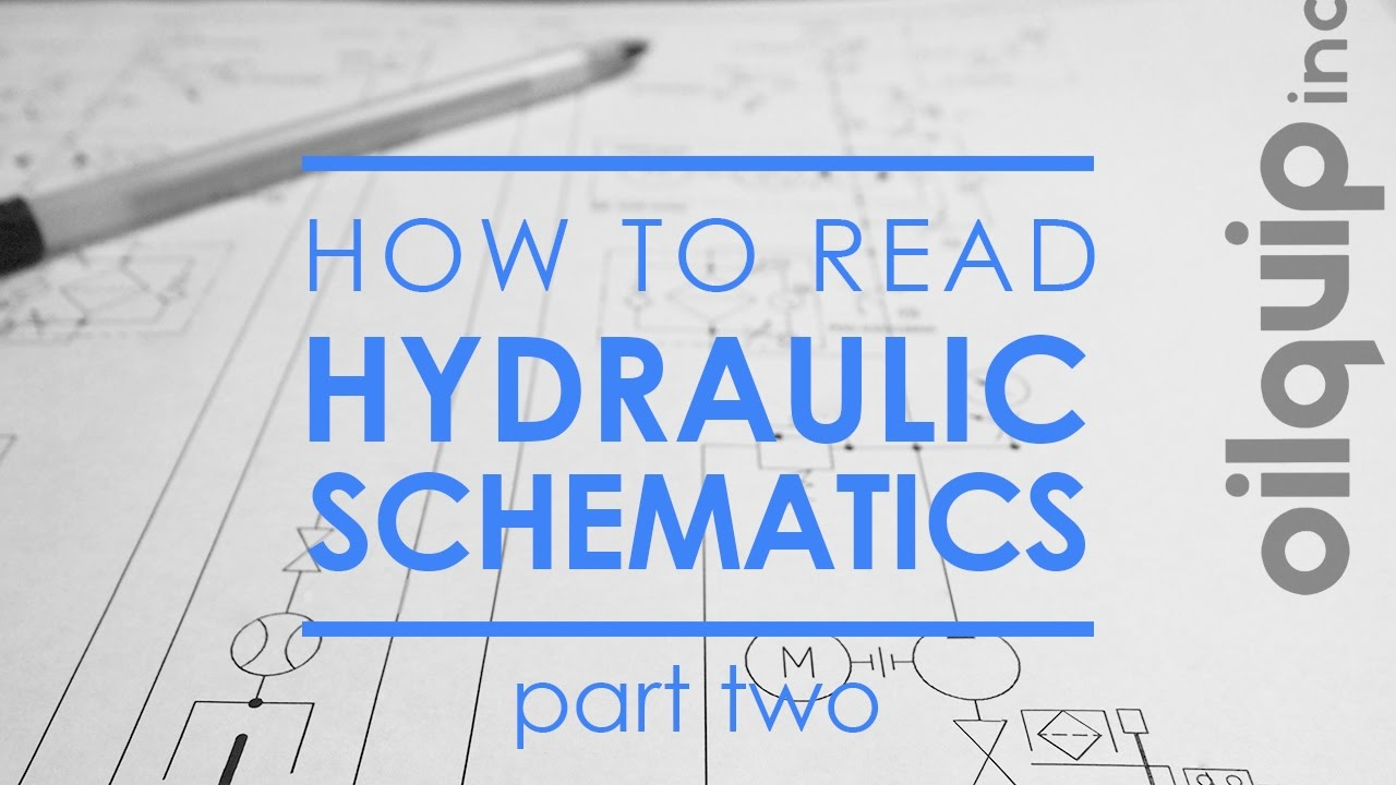 How To Read Hydraulic Schematics Part 2 Check Valves Youtube