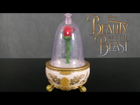 Beauty and the Beast Enchanted Rose Jewelry Box from Jakks Pacific