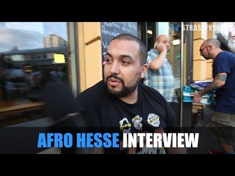 AFRO HESSE INTERVIEW: Berlin Kreuzberg, Junkie Schlägerei, Haftbefehl, Flüchtlinge, Splash