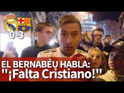 Real Madrid vuelve a caer ante Barcelona