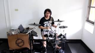แป๊ะ Syndrome - เพดาน SEE SCAPE Drum Cover 55+