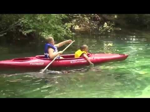 Econfina Creek in Northwest Florida