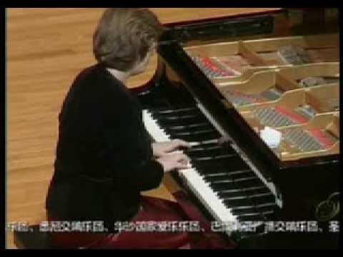 Anna Malikova, Bach Toccata; recital in Beijing, 2007