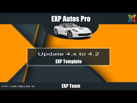 EXP Autos Pro - Update v4.1.x to 4.2.