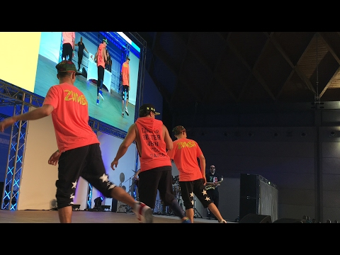 ZUMBA in stage with BETO LIVE in RIMINI WELLNESS 2017