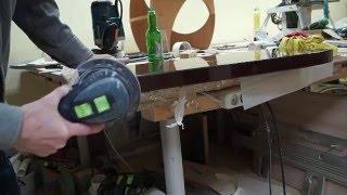 Изготовление полки под ТВ-рессивер. Работа с акриловым стеклом (пластиком) Kamellit