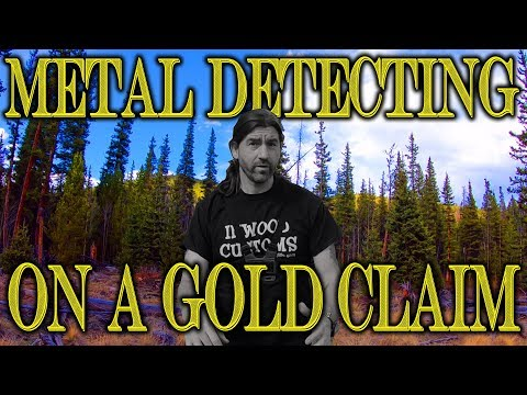 """19th Century Gold Claim Metal Detecting - Looking for Coins, Relics - RIP """"My Good Shovel""""!"""