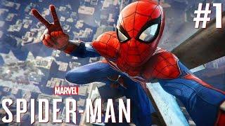 DIT MOET JE ERVAREN !! | Marvel's Spider-Man Let's Play #1