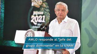 El presidente López Obrador descartó presentar alguna propuesta para reformar a la institución, pues señaló que eso corresponde a los universitarios y afirmó ser respetuoso de la autonomía universitaria