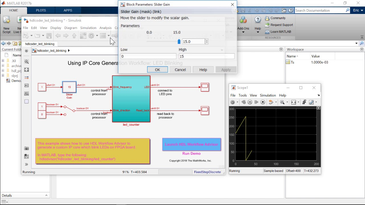 MATLAB as AXI Master with Xilinx FPGA and Zynq SoC Boards