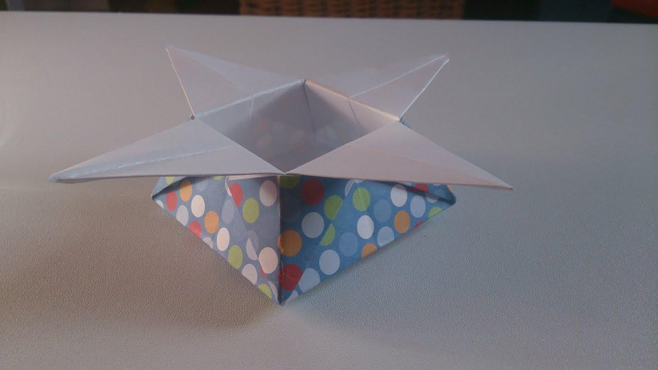 origami facile boite japonaise