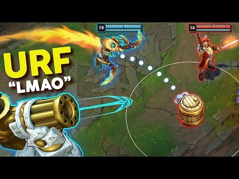 """13 Minutes of """"PERFECT URF MOMENTS"""" in League of Legends"""