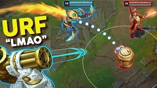 "13 Minutes of ""PERFECT URF MOMENTS"" in League of Legends"