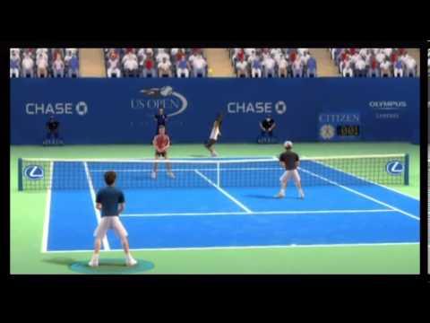 EA Sports Grand Slam Tennis Wii Gameplay Part 2
