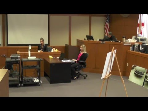 Plaintiff takes the Stand followed by her before and after witness