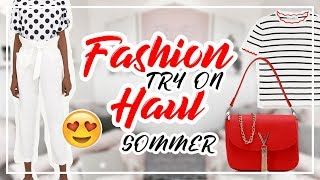 TRY ON FASHION HAUL 🛍️| Sommer 2018 + Unboxing | AnnKath beauty