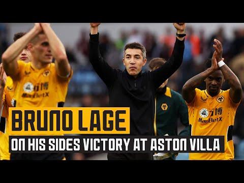 Bruno Lage on last-gasp victory at Villa Park!
