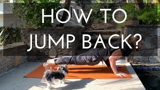 Yoga for beginner - How to jump back  to chaturanga | common mistakes