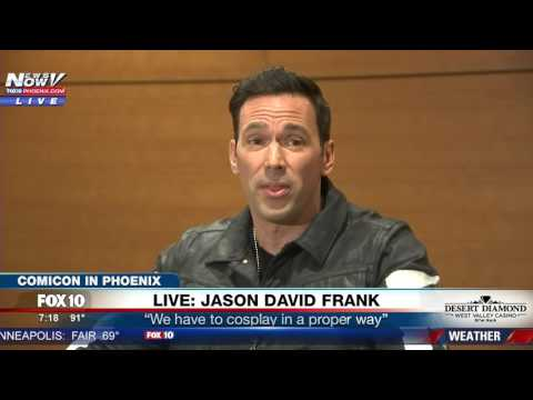 Thumbnail: WATCH: 'Green Ranger' Actor Jason David Frank Speaks After Gunman Arrested At Comicon