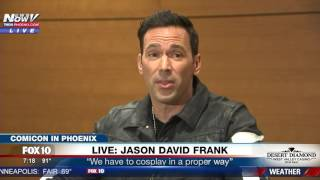 WATCH: 'Green Ranger' Actor Jason David Frank Speaks After Gunman Arrested At Comicon by : FOX 10 Phoenix