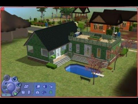 Cara membuat rumah simple di - the sims 2 & Cara membuat rumah simple di - the sims 2 - YouTube
