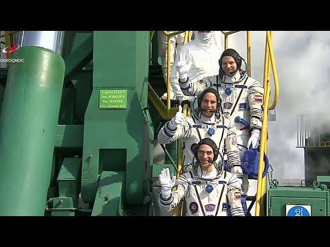 Владимир Путин пообщался с экипажем МКС.