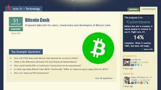 Bitcoin Cash on Stack Exchange