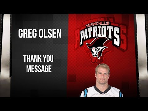 Super Bowl's Greg Olsen Sends Video Shout Out To Wayne Hills