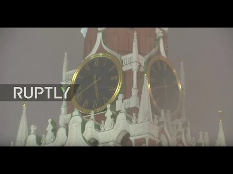LIVE: Kremlin Clock ahead of 2018 World Cup draw