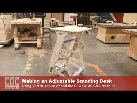 Making an Adjustable Standing Desk (Open Design)