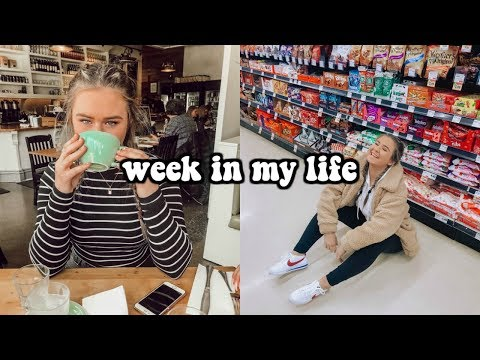 week in my life as a high school student + youtuber!