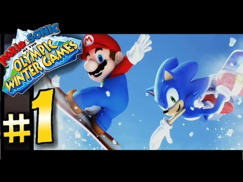 Mario & Sonic at the Vancouver 2010 Olympic Winter Games - #1