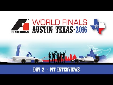 F1 in Schools World Finals 2016 Day 2 - Pit Interviews