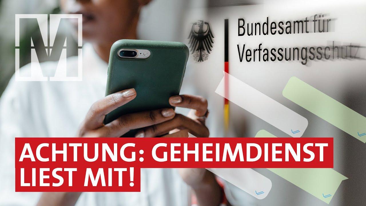 Handy-Überwachung: Alle Macht dem Verfassungsschutz? – MONITOR