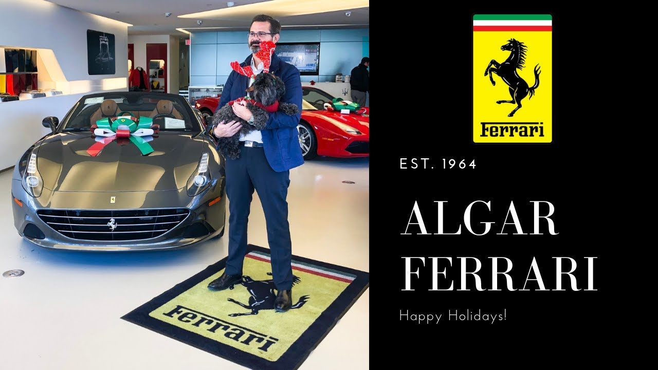 Happy Holidays From Algar Ferrari Of Philadelphia Youtube
