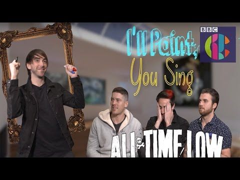 All Time Low | 'I'll paint you sing!'