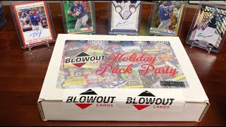 2019 Blowout Cards Holiday Pack Party - Baseball