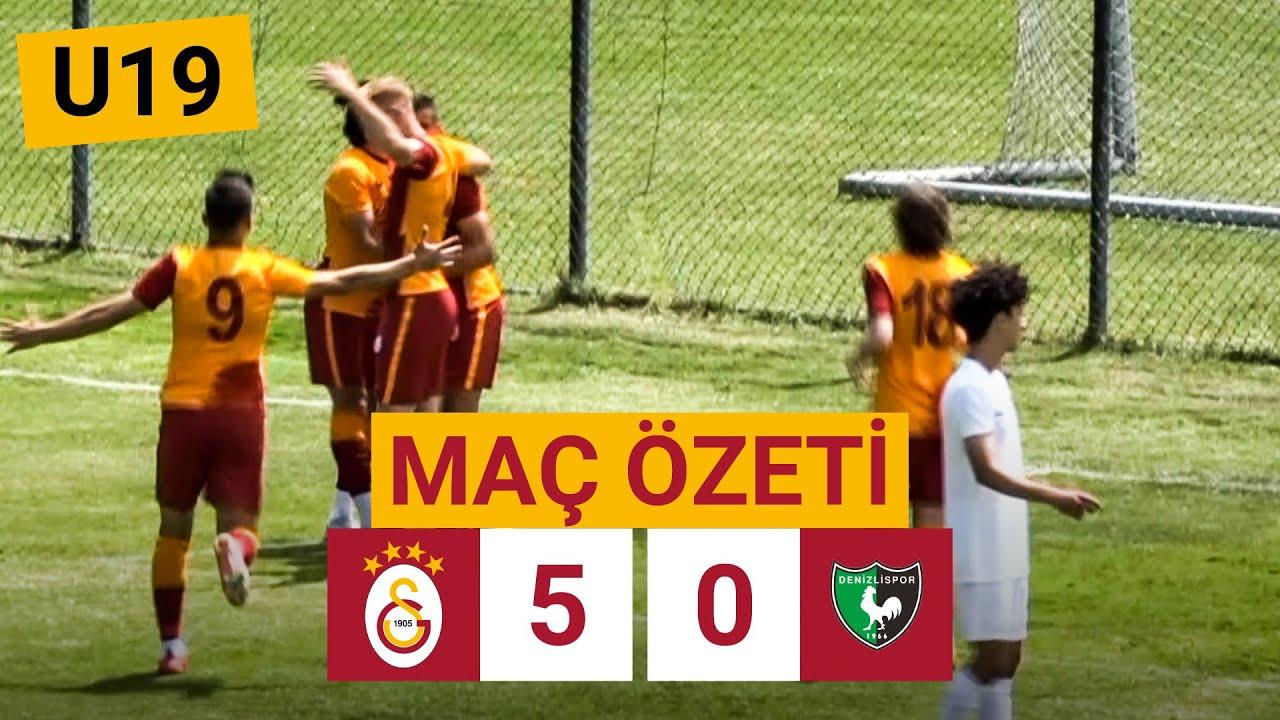 Özet   Galatasaray 5-0 Y. Denizlispor   U19 Elit Gelişim Ligi