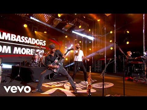 X Ambassadors - Collider (Jimmy Kimmel Live!/2016) ft. Tom Morello