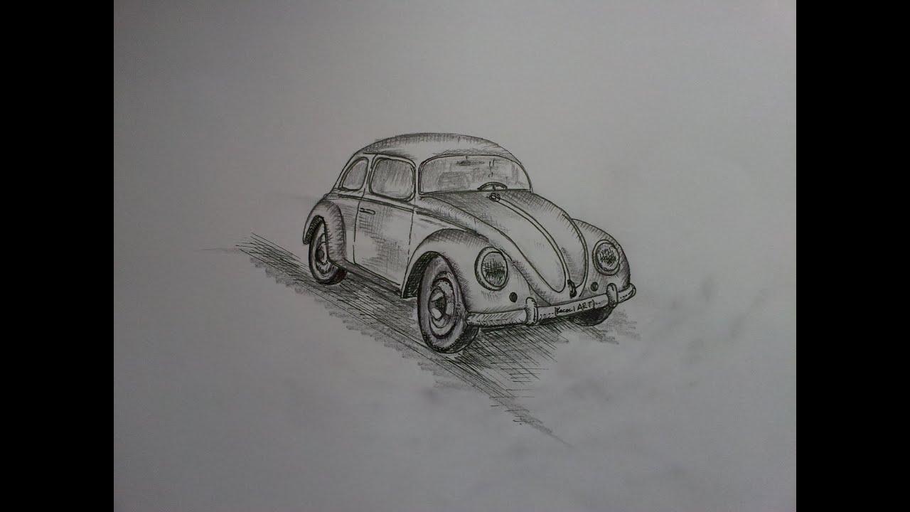 Volkswagen Beetle Vosvos Nasıl 199 Izilir How To Draw