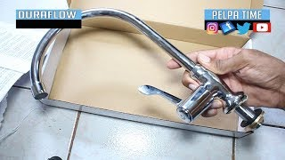 how to install a kitchen sink faucet pipe installation
