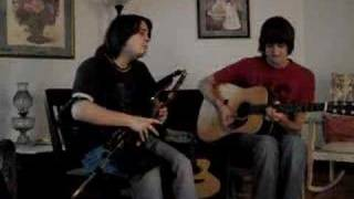 Zac Leger and Will MacMorran - set of jigs on uilleann pipes